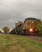UP 6819 westbound UP empty coal train